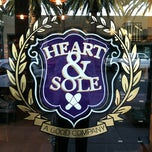 Photo taken at Heart & Sole by Patrick B. on 7/31/2012