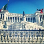 Photo taken at Altare della Patria by Alana D. on 7/16/2012