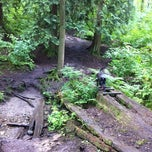 Photo taken at Robert Burnaby Park Dogpark by Erin F. on 6/18/2011
