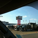 Photo taken at New Hampshire Motor Speedway by Jason B. on 7/12/2012
