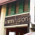 Photo taken at Imm Fusion Sukhumvit by !!!💃Aı̊bjuNg💫 L. on 1/15/2012