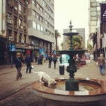 Photo taken at Peatonal Sarandí by Laura A. on 3/13/2013