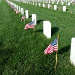 Photo taken at Hampton National Cemetery by Charles Y. on 5/23/2014