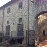 Photo taken at Castello di Querceto by Vito on 10/26/2013