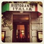 Photo taken at Italia by Patrik R. on 8/1/2013
