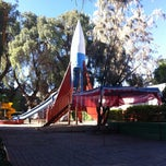 Photo taken at Parque del Cohete by Horacio D. on 9/4/2013