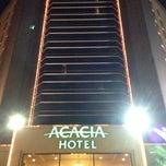 Photo taken at Acacia Hotel by Shoji N. on 12/18/2013