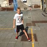 Photo taken at Middenschool Brugge Centrum by Nadia V. on 8/20/2013