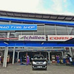 Photo taken at Speed Tyre Shop, Ciledug by Fer D. on 11/29/2012