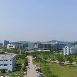 Photo taken at KAIST (한국과학기술원) by Michael D. on 5/25/2013