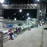 Photo taken at Sambódromo by Gilberto C. on 2/12/2013