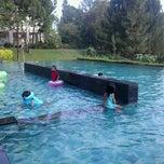 Photo taken at Swimming Pool Bumi CIMB Niaga by Nanicahya K. on 4/28/2013