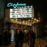 Photo taken at Cinema Village by Glauco G. on 11/13/2012