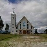 Photo taken at Gereja HKBP Sirisirisi Resort Sirisirisi by JNE DolokSanggul ★. on 2/5/2013