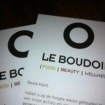 Photo taken at Le Boudoir by Stefanie D. on 11/2/2012