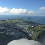 Photo taken at Flugvöllur Vestmannaeyjar by Aron K. on 8/2/2013