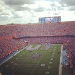 Photo taken at Ben Hill Griffin Stadium by Brandon M. on 10/6/2012