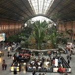 Photo taken at Estación de Madrid-Puerta de Atocha by Alberto F. on 2/21/2013