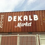 Photo taken at Dekalb Market by daf•nei on 7/23/2011