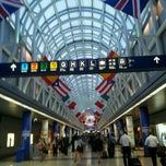 Photo taken at Chicago O'Hare International Airport (ORD) by Вивиан on 8/2/2013