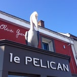 Photo taken at Le Pelican by Cécile on 11/5/2014