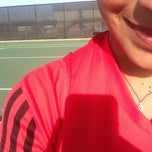 Photo taken at Longview Tennis Courts by Melanie on 4/10/2014