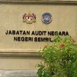 Photo taken at Jabatan Audit Negara, N. Sembilan by MizzSyikin N. on 4/21/2015