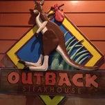 Photo taken at Outback Steakhouse by Krakatau B. on 12/2/2012