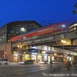 Photo taken at Bahnhof Berlin Friedrichstraße by Deutsche Bahn on 12/6/2012