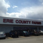Photo taken at Erie County Farms by Kathi S. on 4/21/2015