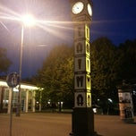 Photo taken at Laimas Pulkstenis | Laima clock by Quynh A. on 7/28/2013