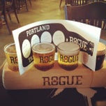 Photo taken at Rogue Ales Public House by jamie f. on 7/4/2012