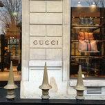 Photo taken at Gucci by Afota-Daufresne J. on 2/11/2013
