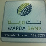 Photo taken at Warba Bank by Mohammed A. on 9/19/2012