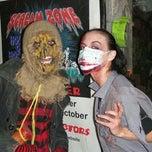 Photo taken at Scream Zone by Julie B. on 11/2/2013