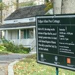 Photo taken at Edgar Allan Poe Cottage by Julie B. on 10/4/2013