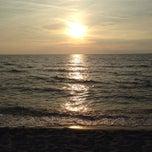 Photo taken at Lido Beach Spiaggia Libera Lido Di Camaiore by Keane X. on 10/5/2014
