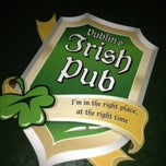 Photo taken at Dublin's Irish Pub by Palito de Pan .. on 1/20/2013
