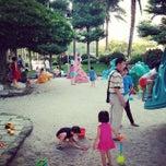 Photo taken at 福安兒童公園 by Alex T. on 8/31/2014