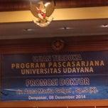 Photo taken at Universitas Udayana by Putra A. on 12/8/2014