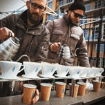 Photo taken at Blue Bottle @ Smorgasburg by Vivi M. on 4/5/2014
