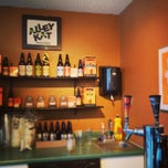 Photo taken at Alley Kat Brewing Company by Libby on 1/30/2013