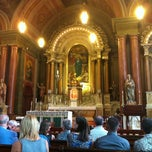Photo taken at Old Saint Mary's Catholic Church by Kevin M. on 9/15/2012