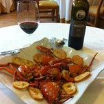 Photo taken at Restaurante El Cruce by Alvaro A. on 10/10/2013