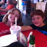 Photo taken at Uncle Mike's Smokehouse Grill by Mark M. on 8/2/2013
