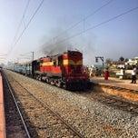 Photo taken at Doddaballapur Railway Station by Nithin J. on 12/28/2013