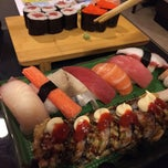 Photo taken at Mizu Sushi & Grill by Virgilio C. R. on 1/12/2015