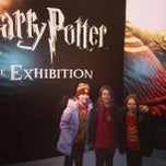 Photo taken at Harry Potter: The Exhibition by Dave K. on 1/6/2013