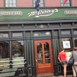 Photo taken at McGarvey's Saloon & Oyster Bar by Carl T. on 8/7/2013
