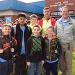 Photo taken at Joppa View Elementary by Jeffrey S. on 4/25/2014